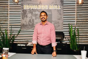 G Patel at Edwards Mill Bar & Grlll