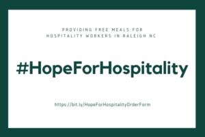 Hope for Hospitality