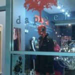 G Patel Portfolio - Dapper Style House Boutique and Bar window at night