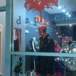 G Patel Portfolio - Dapper Style House Boutique and Bar window at night
